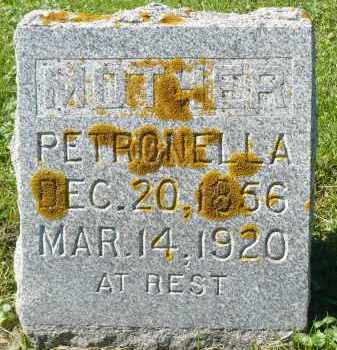 ANDERSON, PETRONELLA - Minnehaha County, South Dakota | PETRONELLA ANDERSON - South Dakota Gravestone Photos