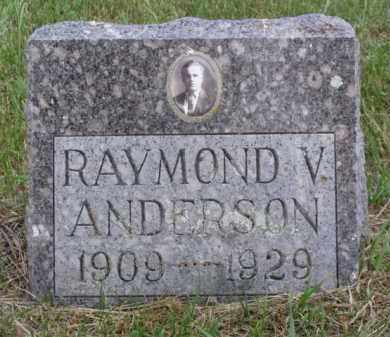 ANDERSON, RAYMOND V. - Minnehaha County, South Dakota | RAYMOND V. ANDERSON - South Dakota Gravestone Photos