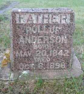 ANDERSON, ROLLUF - Minnehaha County, South Dakota | ROLLUF ANDERSON - South Dakota Gravestone Photos