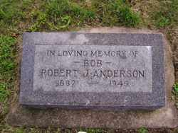 ANDERSON, ROBERT J. - Minnehaha County, South Dakota | ROBERT J. ANDERSON - South Dakota Gravestone Photos