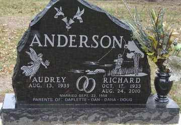 ANDERSON, RICHARD - Minnehaha County, South Dakota | RICHARD ANDERSON - South Dakota Gravestone Photos