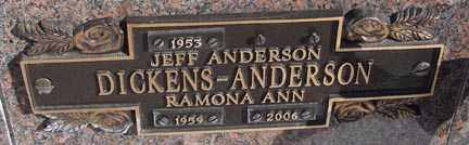 ANDERSON, RAMONA ANN - Minnehaha County, South Dakota | RAMONA ANN ANDERSON - South Dakota Gravestone Photos