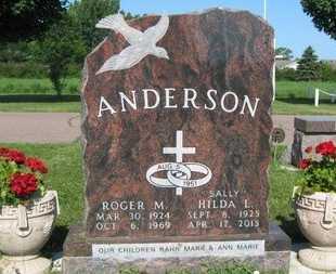 ANDERSON, SALLY  (HILDA L) - Minnehaha County, South Dakota | SALLY  (HILDA L) ANDERSON - South Dakota Gravestone Photos