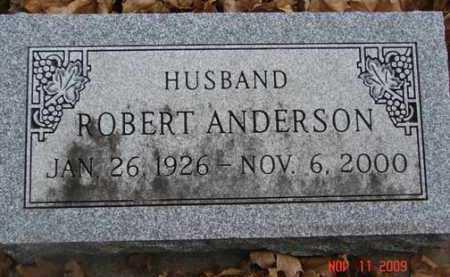 ANDERSON, ROBERT - Minnehaha County, South Dakota | ROBERT ANDERSON - South Dakota Gravestone Photos