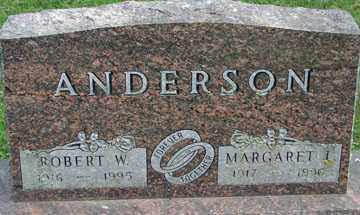 ANDERSON, ROBERT W. - Minnehaha County, South Dakota | ROBERT W. ANDERSON - South Dakota Gravestone Photos