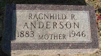 ANDERSON, RAGNHILD R. - Minnehaha County, South Dakota | RAGNHILD R. ANDERSON - South Dakota Gravestone Photos