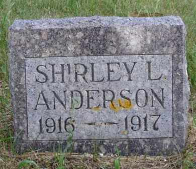 ANDERSON, SHIRLEY L. - Minnehaha County, South Dakota | SHIRLEY L. ANDERSON - South Dakota Gravestone Photos