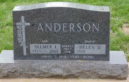 ANDERSON, HELEN D., - Minnehaha County, South Dakota | HELEN D., ANDERSON - South Dakota Gravestone Photos