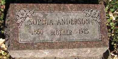 ANDERSON, SOPHIA - Minnehaha County, South Dakota | SOPHIA ANDERSON - South Dakota Gravestone Photos