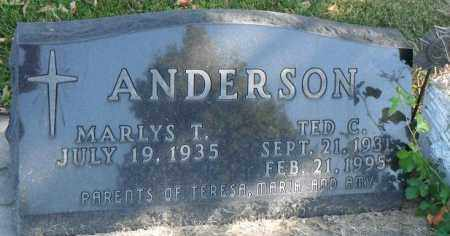 ANDERSON, MARLYS T. - Minnehaha County, South Dakota | MARLYS T. ANDERSON - South Dakota Gravestone Photos