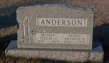 ANDERSON, ARTHUR N. - Minnehaha County, South Dakota | ARTHUR N. ANDERSON - South Dakota Gravestone Photos