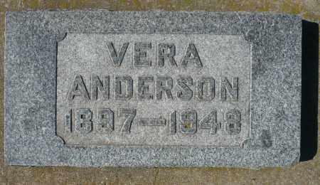 ANDERSON, VERA MARGARITE - Minnehaha County, South Dakota | VERA MARGARITE ANDERSON - South Dakota Gravestone Photos