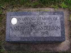 "ANDERSON, VAN ARTHUR ""SHOCKEY"" - Minnehaha County, South Dakota | VAN ARTHUR ""SHOCKEY"" ANDERSON - South Dakota Gravestone Photos"