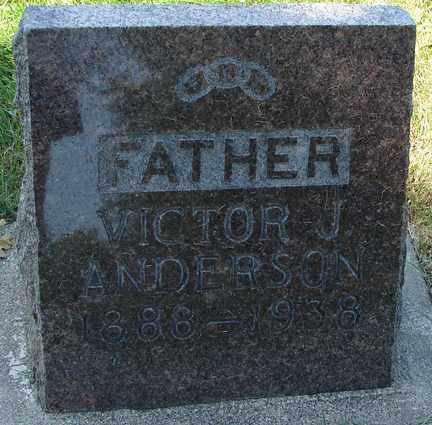 ANDERSON, VICTOR J. - Minnehaha County, South Dakota | VICTOR J. ANDERSON - South Dakota Gravestone Photos