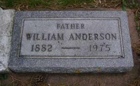 ANDERSON, WILLIAM - Minnehaha County, South Dakota | WILLIAM ANDERSON - South Dakota Gravestone Photos