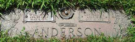 ANDERSON, WILLIAM H. - Minnehaha County, South Dakota | WILLIAM H. ANDERSON - South Dakota Gravestone Photos