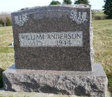 ANDERSON, WILLIAM - Minnehaha County, South Dakota | WILLIAM ANDERSON - South Dakota Gravestone Photos
