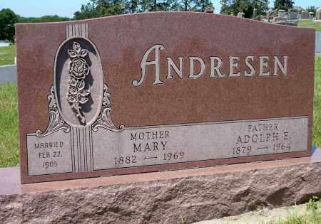 ANDRESEN, MARY - Minnehaha County, South Dakota | MARY ANDRESEN - South Dakota Gravestone Photos