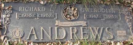 ANDREWS, RICHARD L. - Minnehaha County, South Dakota   RICHARD L. ANDREWS - South Dakota Gravestone Photos
