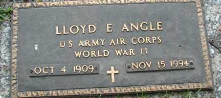 ANGLE, LLOYD E. - Minnehaha County, South Dakota | LLOYD E. ANGLE - South Dakota Gravestone Photos