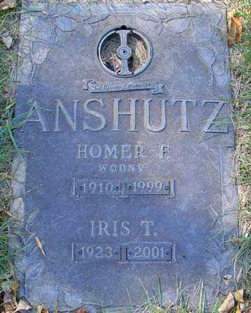 ANSHUTZ, IRIS T. - Minnehaha County, South Dakota | IRIS T. ANSHUTZ - South Dakota Gravestone Photos