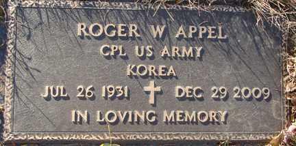 APPEL, ROGER W. - Minnehaha County, South Dakota | ROGER W. APPEL - South Dakota Gravestone Photos