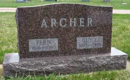 ARCHER, GUY L. - Minnehaha County, South Dakota | GUY L. ARCHER - South Dakota Gravestone Photos