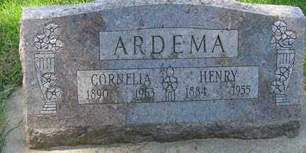 ARDEMA, HENRY - Minnehaha County, South Dakota | HENRY ARDEMA - South Dakota Gravestone Photos