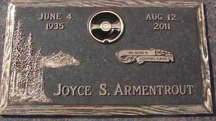 ARMENTROUT, JOYCE SIBYL - Minnehaha County, South Dakota | JOYCE SIBYL ARMENTROUT - South Dakota Gravestone Photos