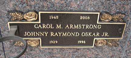 ARMSTRONG, CAROL M. - Minnehaha County, South Dakota | CAROL M. ARMSTRONG - South Dakota Gravestone Photos