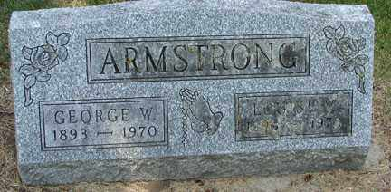 ARMSTRONG, GEORGE W. - Minnehaha County, South Dakota | GEORGE W. ARMSTRONG - South Dakota Gravestone Photos