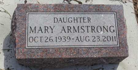 ARMSTRONG, MARY - Minnehaha County, South Dakota   MARY ARMSTRONG - South Dakota Gravestone Photos