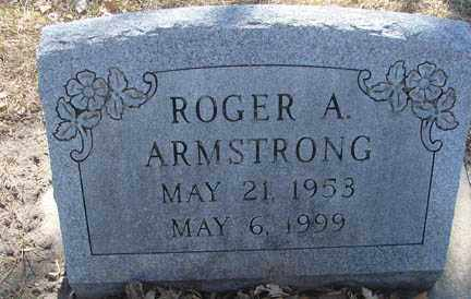 ARMSTRONG, ROGER A. - Minnehaha County, South Dakota   ROGER A. ARMSTRONG - South Dakota Gravestone Photos