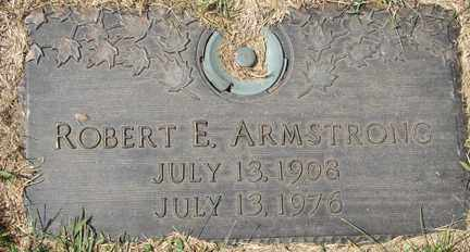 ARMSTRONG, ROBERT E. - Minnehaha County, South Dakota | ROBERT E. ARMSTRONG - South Dakota Gravestone Photos