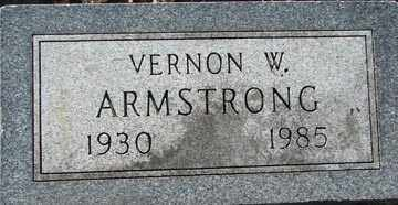 ARMSTRONG, VERNON W. - Minnehaha County, South Dakota | VERNON W. ARMSTRONG - South Dakota Gravestone Photos