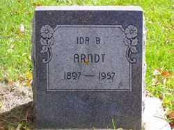ARNDT, IDA B. - Minnehaha County, South Dakota   IDA B. ARNDT - South Dakota Gravestone Photos