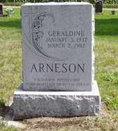 ARNESON, GERALDINE - Minnehaha County, South Dakota | GERALDINE ARNESON - South Dakota Gravestone Photos