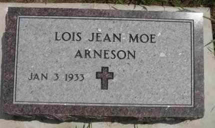 MOE ARNESON, LOIS JEAN - Minnehaha County, South Dakota | LOIS JEAN MOE ARNESON - South Dakota Gravestone Photos