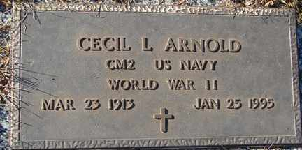 ARNOLD, CECIL L. (WWII) - Minnehaha County, South Dakota | CECIL L. (WWII) ARNOLD - South Dakota Gravestone Photos
