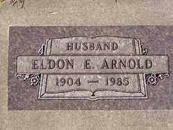 ARNOLD, ELDON E. - Minnehaha County, South Dakota | ELDON E. ARNOLD - South Dakota Gravestone Photos