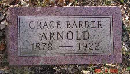 ARNOLD, GRACE BARBER - Minnehaha County, South Dakota | GRACE BARBER ARNOLD - South Dakota Gravestone Photos