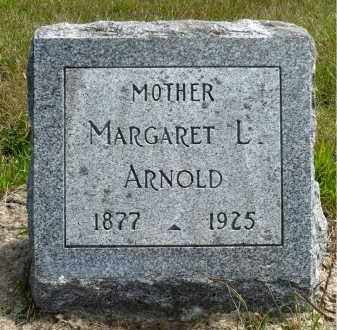 ARNOLD, MARGARET L. - Minnehaha County, South Dakota | MARGARET L. ARNOLD - South Dakota Gravestone Photos