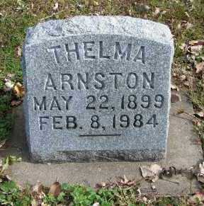 ARNSTON, THELMA - Minnehaha County, South Dakota | THELMA ARNSTON - South Dakota Gravestone Photos