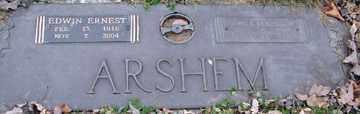 ARSHEM, EUNICE MARGARET - Minnehaha County, South Dakota | EUNICE MARGARET ARSHEM - South Dakota Gravestone Photos