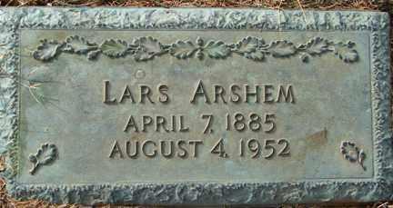 ARSHEM, LARS - Minnehaha County, South Dakota | LARS ARSHEM - South Dakota Gravestone Photos
