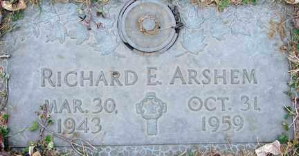 ARSHEM, RICHARD E. - Minnehaha County, South Dakota | RICHARD E. ARSHEM - South Dakota Gravestone Photos