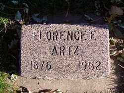 ARTZ, FLORENCE C. - Minnehaha County, South Dakota   FLORENCE C. ARTZ - South Dakota Gravestone Photos