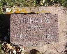 ARTZ, THOMAS M. - Minnehaha County, South Dakota | THOMAS M. ARTZ - South Dakota Gravestone Photos