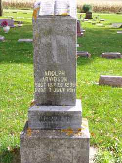 ARVIDSON, ADOLPH - Minnehaha County, South Dakota | ADOLPH ARVIDSON - South Dakota Gravestone Photos