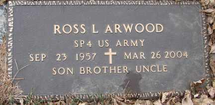 ARWOOD, ROSS L. (MILITARY) - Minnehaha County, South Dakota | ROSS L. (MILITARY) ARWOOD - South Dakota Gravestone Photos